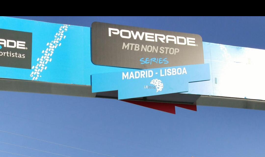 POWERADE MTB NONSTOP MADRID-LISBOA 2017